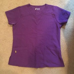 Other - Purple scrub top size m